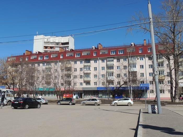 Мансарда на Йошкар-Ола Яналова 4